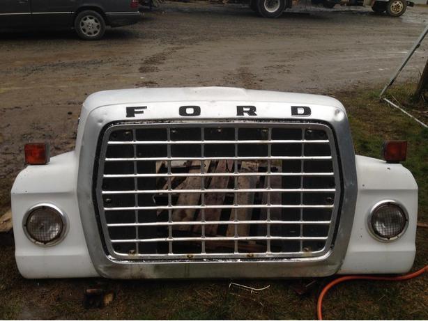 Ford Louisville Truck Hood