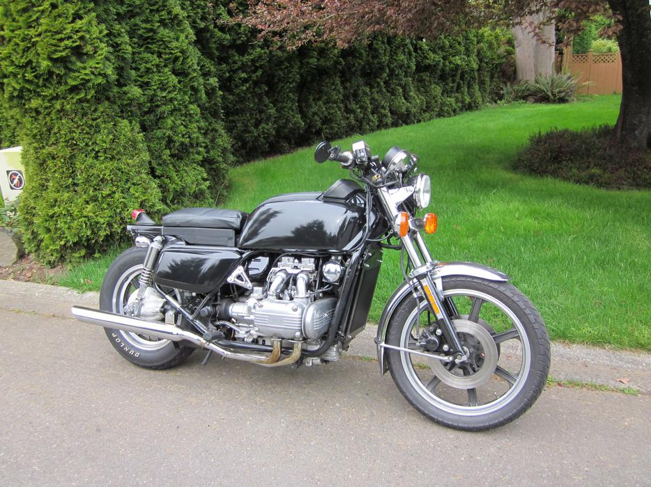 how to build a goldwing bobber