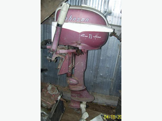 Parting out vintage 7 1/2 HP Johnson Seahorse