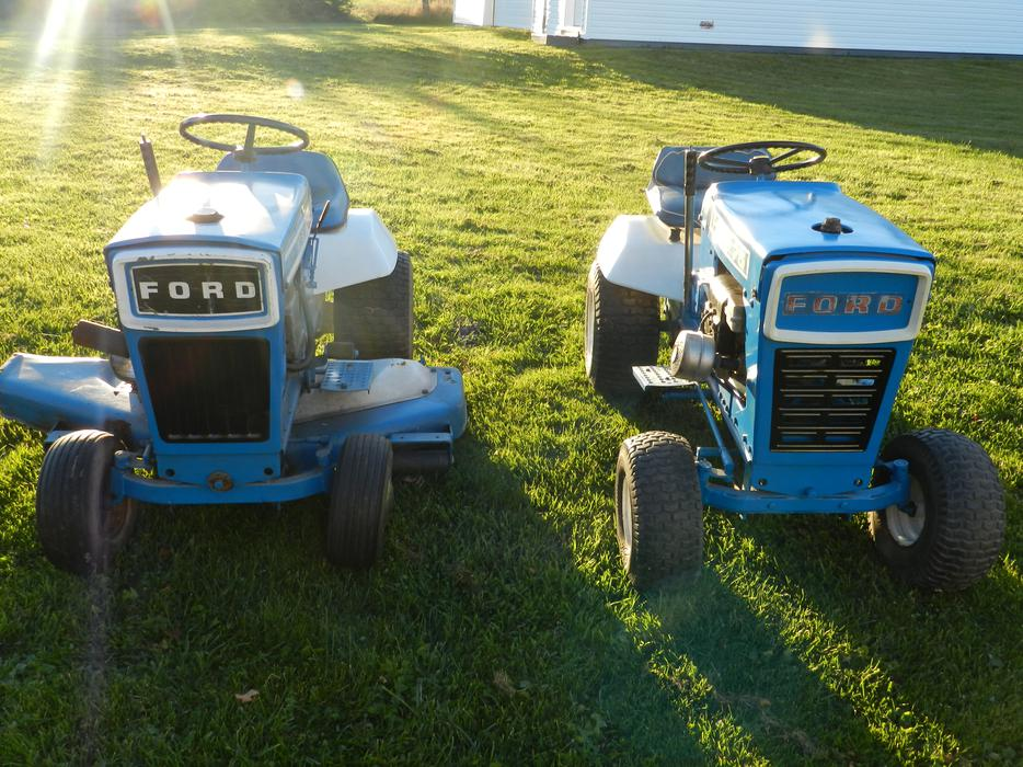 Used Ford Lawn Tractor : Ford garden tractor used