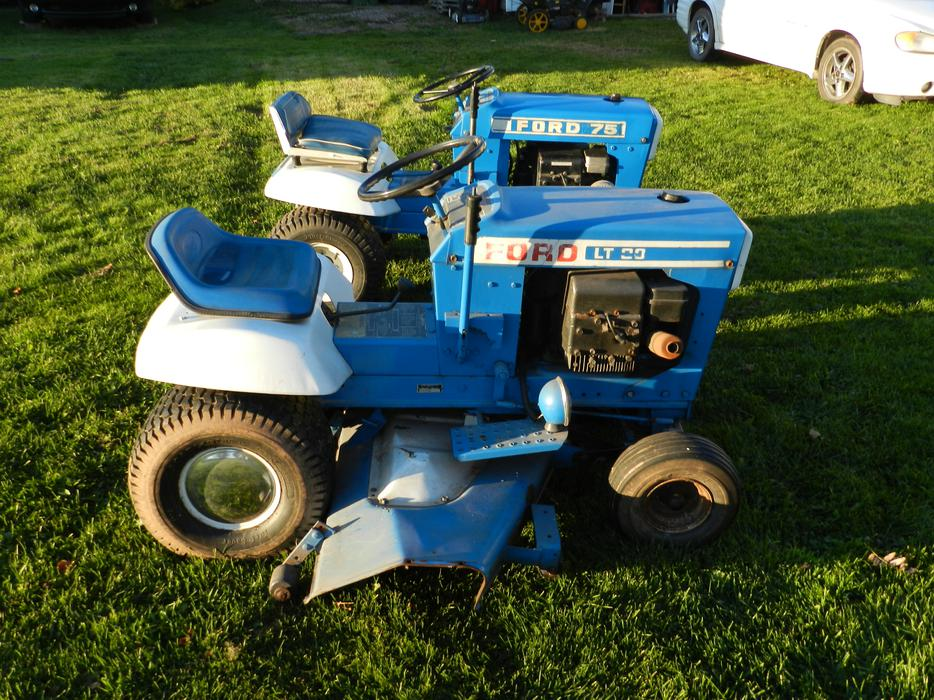 Ford Lt80 Lt75 Lawn Tractors Queens County Pei