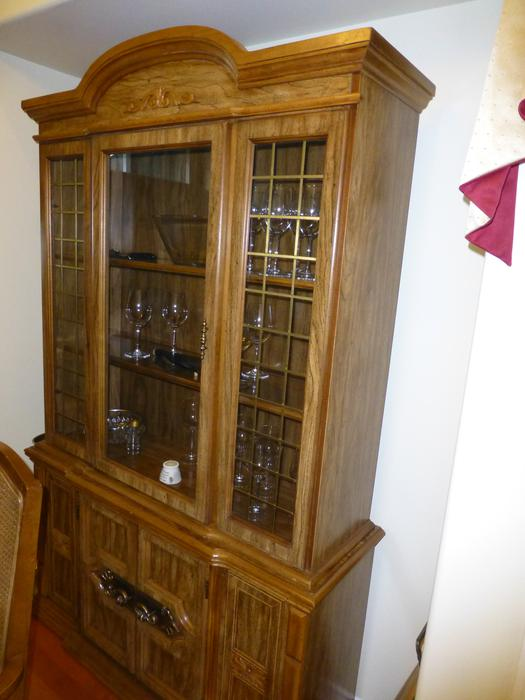 11 pc dining room set with china cabinet surrey incl white rock