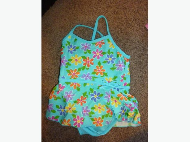 Flower Bathing Suit - Size 3