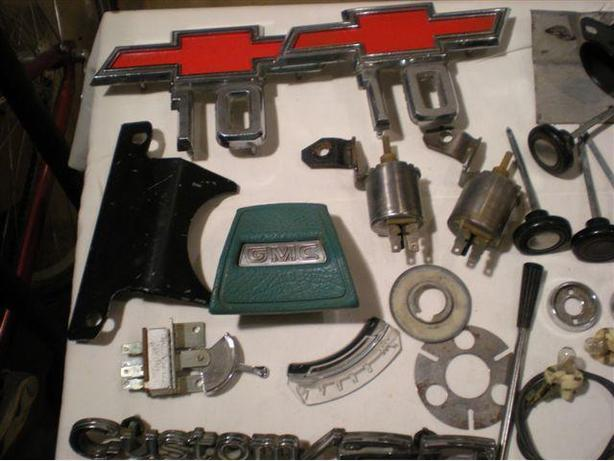 GM Truck Parts: In-cab, Chassis (1968 to 1972)