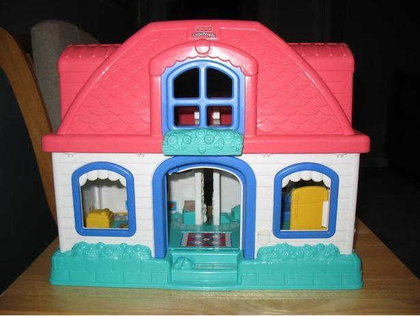 Fisher Price Little Sweet People Folding Doll House
