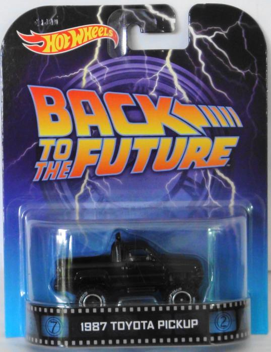 Toyota Grand Forks >> Hot Wheels Retro Entertainment Back to the Future Toyota