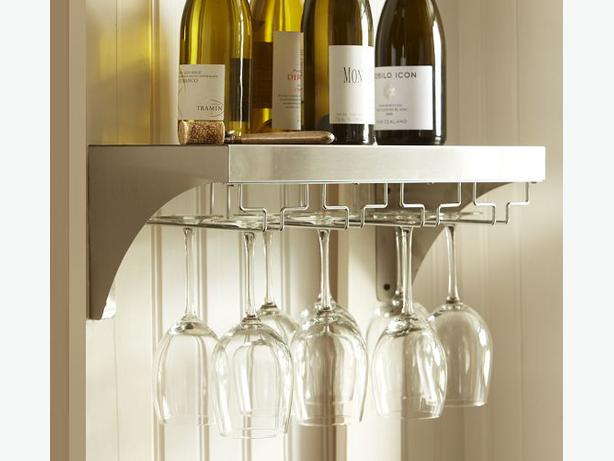 Pottery Barn Wine Glass Rack Victoria City Victoria