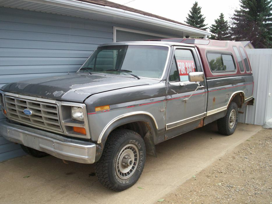 1986 Ford F150 4x4 Moose Jaw Regina