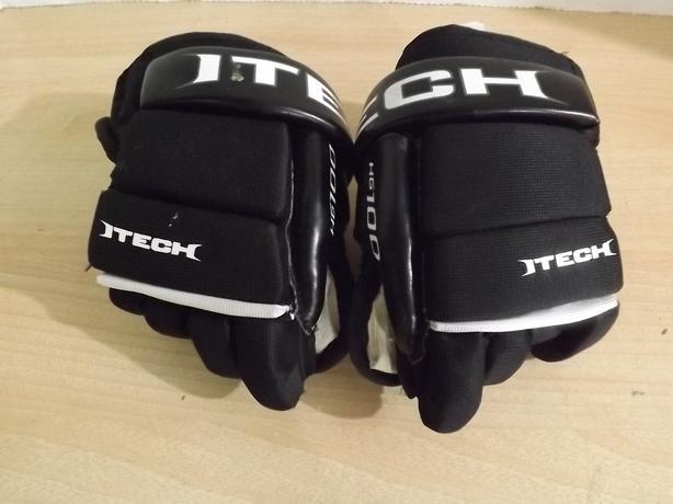 "Hockey Gloves Childrens Toddler Itech 8"" Ages 3-4 Worn ..."