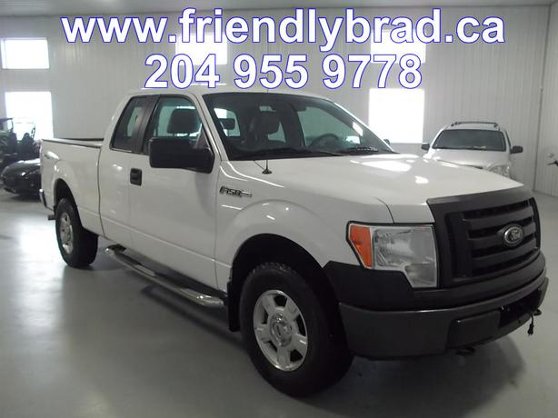 2009 ford f150 xl 4wd 21159 indoor auto sales winnipeg. Black Bedroom Furniture Sets. Home Design Ideas
