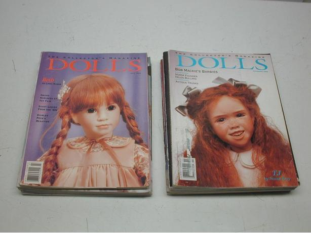 Doll and Bear Collector Collecting Magazines