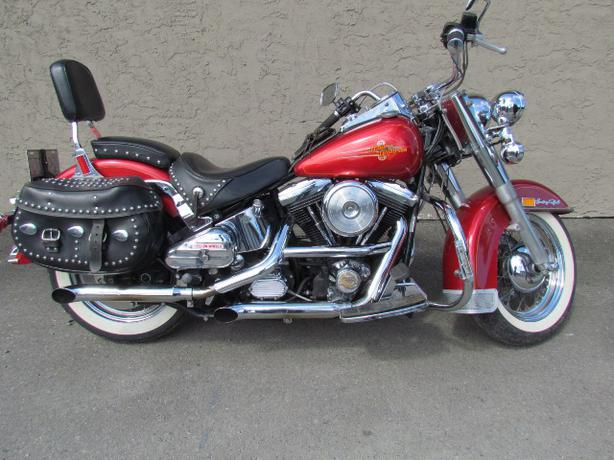 harley davidson heritage softail classic 1992 for sale by owner outside alberni valley ucluelet. Black Bedroom Furniture Sets. Home Design Ideas