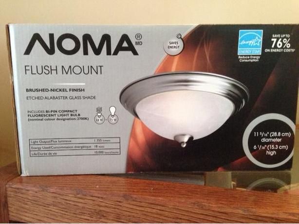 noma flush mount ceiling light 11 5 6 diameter saanich
