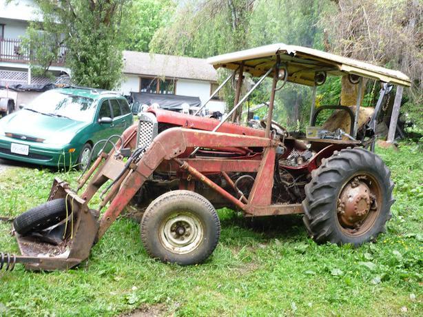 1958 Ferguson Tractor Attachments : Massey harris ferguson lake cowichan