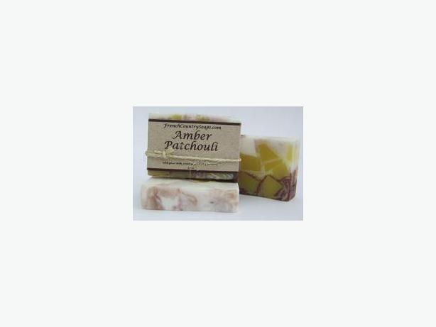 Soap - Handmade & All natural - Amber Patchouli