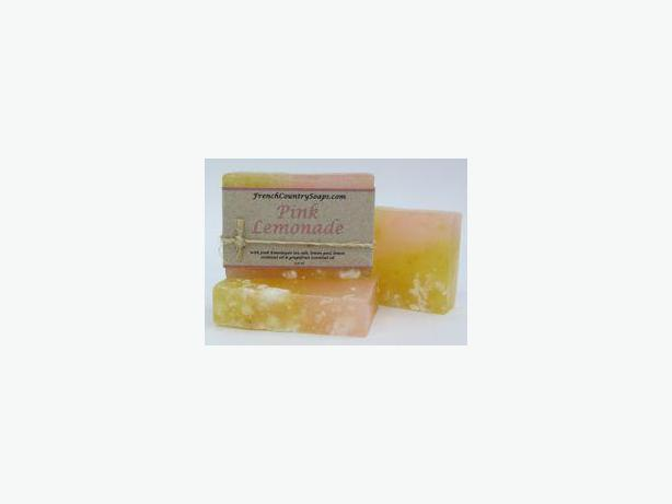 Soap - Handmade & All natural - Pink Lemonade