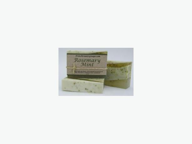 Soap - Handmade & All natural - Rosemary Mint (with essential oils)