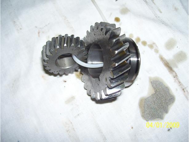 Yamaha RZ350 Banshee 350 crank gears