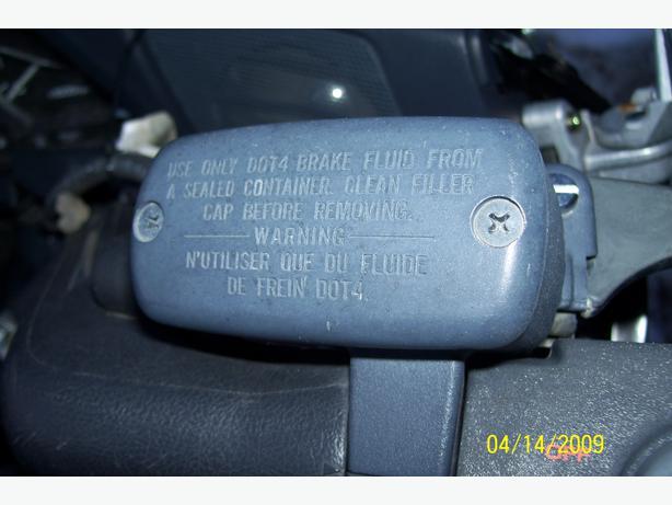 Honda GL1500 Goldwing 1500 front brake master cylinder brake fluid reservoir