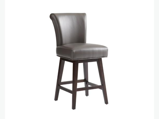 Swivel Leather Bar Stool Victoria City Victoria