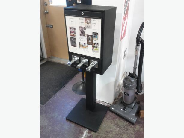sports card vending machine