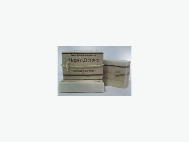 Soap - Handmade & All natural - Maple-Licious