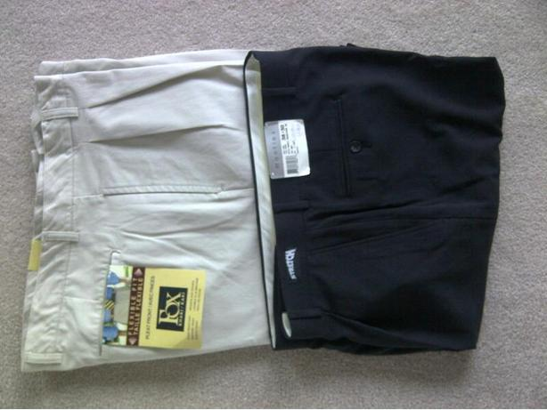 2 pairs new size 38 waist pants