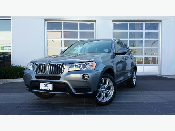 2012 Bmw X3 Xdrive28i Suv Price Adjustment Outside