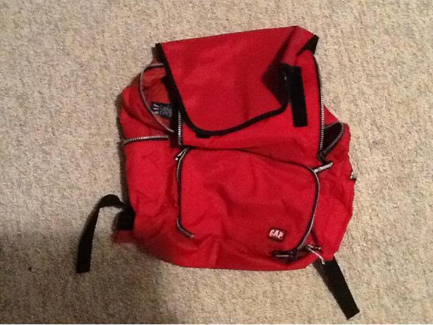GAP fashion backpack - red