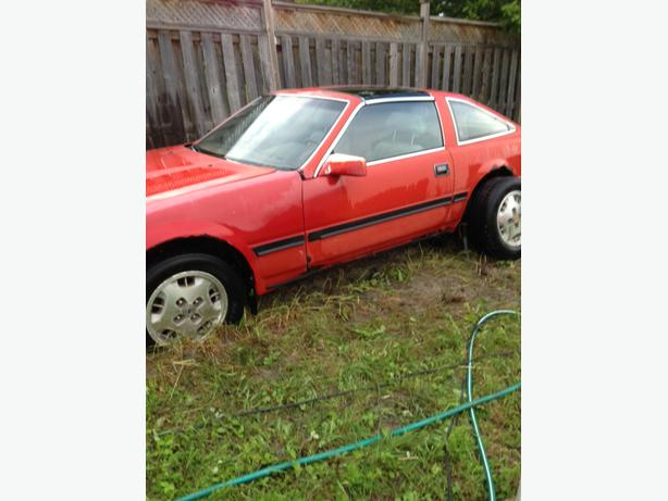 REDUCED! 1985 NISSAN ZX300 1982 MAZDA RX7 GX 1979 TR7 $ 650 EACH OR (3) FOR  $2K