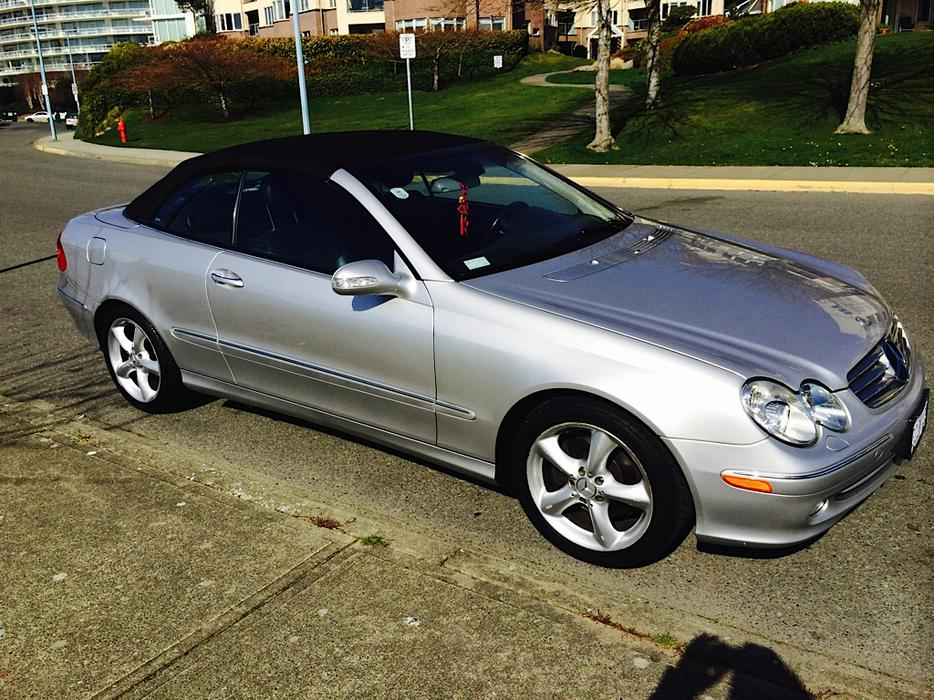 2005 mercedes benz clk 320 convertible oak bay victoria for Mercedes benz bay ridge
