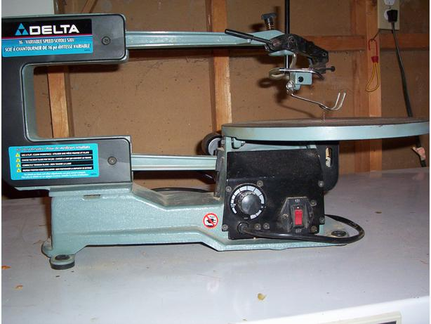 delta scroll saw blades. like new delta 16 inch variable speed scroll saw 40 540 blades