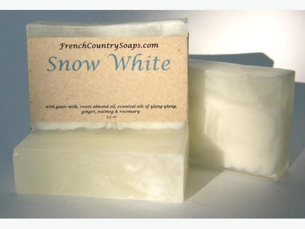 Soap - Handmade & All natural - Snow White