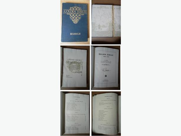 """T. Eaton Company """"Golden Jubilee 1869-1919"""" book"""