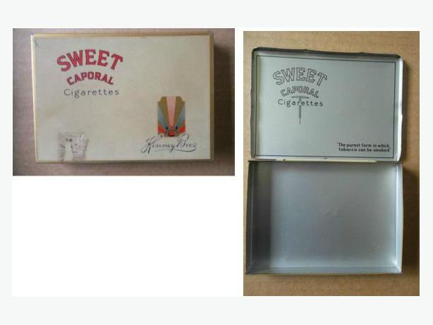 Sweet Caporal Cigarette Case