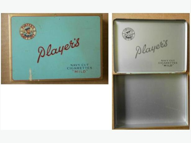 Player's Cigarette Case