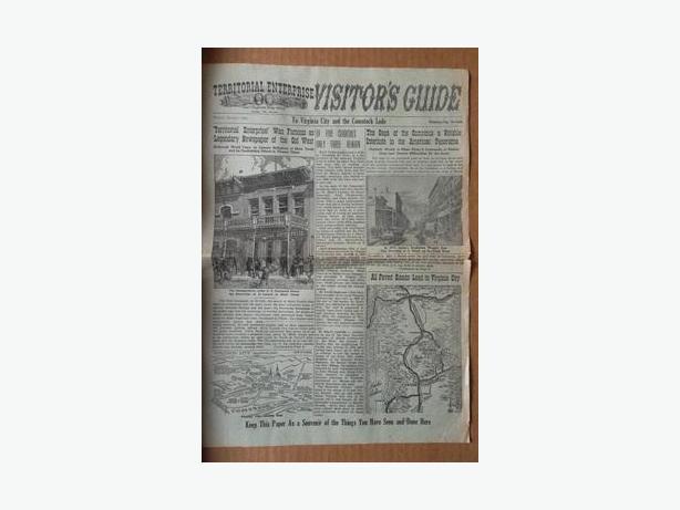 1961 Terrotorial Enterprise Visitor's Guide