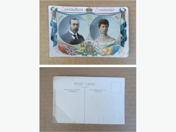 1911 King George V Coronation postcard