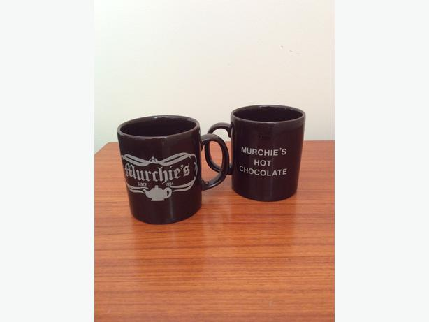 Murchie's Hot Chocolate Coffee Mugs