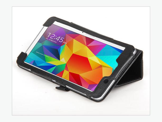 New PU Case Stand for Samsung Galaxy Tab 4 7.0 7 inch T230