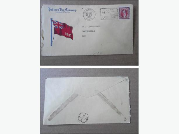 1940 Hudson's Bay Company envelope