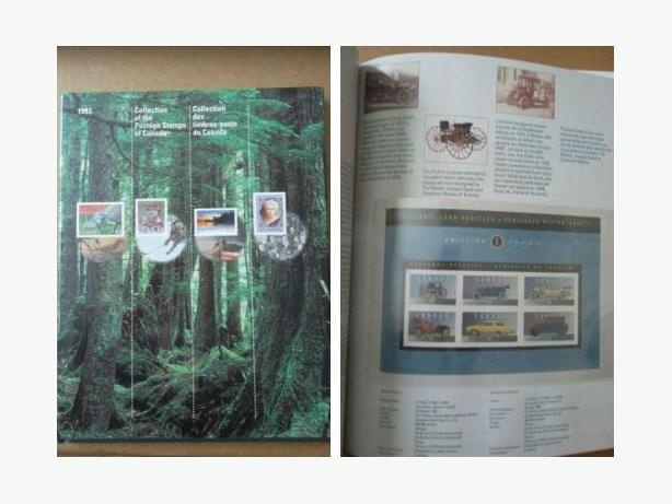 Canada Post Souvenir Book of the postage stamps of 1993