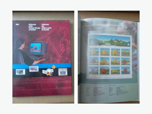Canada Post Souvenir Book of the postage stamps of 1994