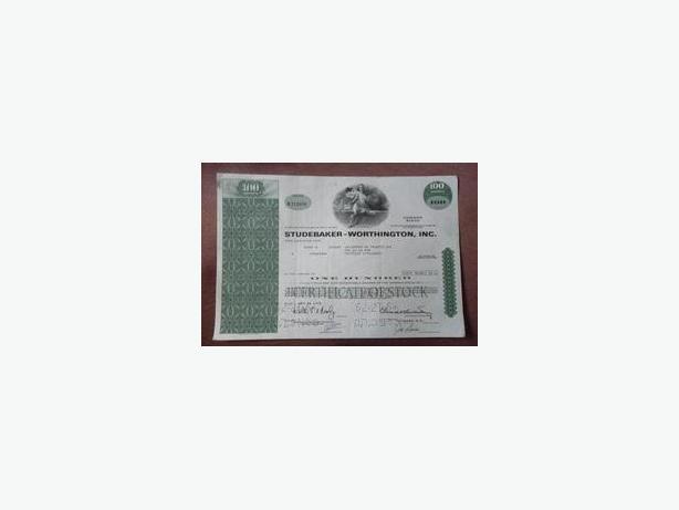 Stock Certificates
