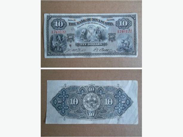 1935 The Bank of Nova Scotia $10 banknote