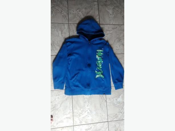 Boys Blue Hurley Hoodie - Size Xl (14-16)