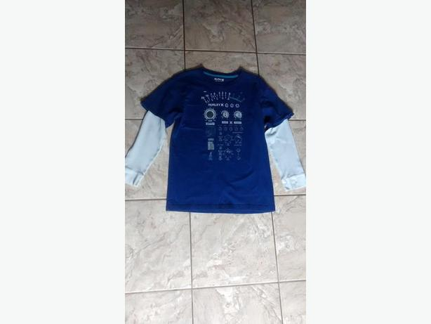 Boys Long Sleeve Blue Hurley Shirt - Size XL (14-16)