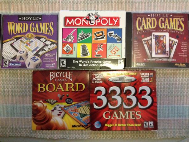 Various PC CD Games