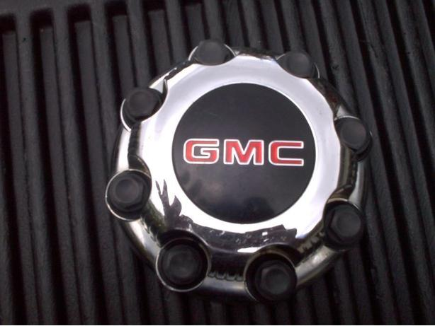 1 only CENTER CAP FOR GMC