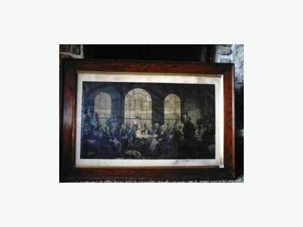 Fathers of Confederation Framed Picture